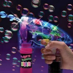 BULLES DE SAVON Ce pistolet à bulle lumineux et sonore , envoi …