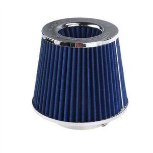 FIXATION D'EXTENSIONS Car Air filtre rond fuselé universel froid Kits d'