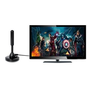 ANTENNE RATEAU Antenne TV Interieur Puissante, HDTV Antennes Ampl