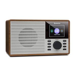 RADIO CD CASSETTE auna DR-160 BT Radio numérique Bluetooth compacte