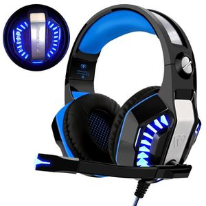 CASQUE AVEC MICROPHONE Casque Gaming PS4 playstation 4 Xbox One 3.5mm jac