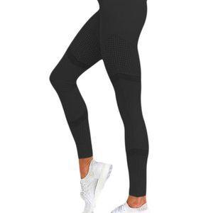 LEGGING Solide taille haute Leggings femmes coeur Pantalon
