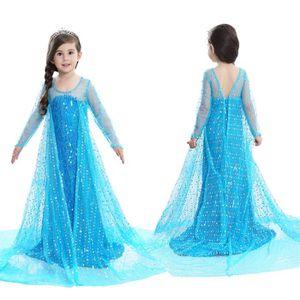 DÉGUISEMENT - PANOPLIE Robe de princesse pour enfants Aisha+ Couronne + B