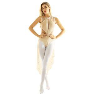 BODY Tutu Justaucorps Danse Femme Justaucorps Gymnastiq