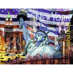 CASSE-TÊTE Ravensburger 16687 9 - Puzzle - New York Collage -