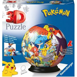 PUZZLE POKEMON Puzzle 3D 72 pcs