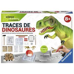 HISTOIRE - GEO SCIENCE X RAVENSBURGER Midi Traces de Dinosaures J