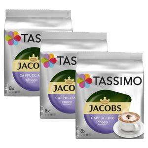 CAFÉ 3 Tassimo Jacobs Cappuccino Choco