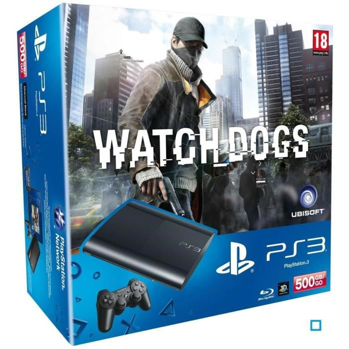 PS3 + WATCH DOGS / PS3