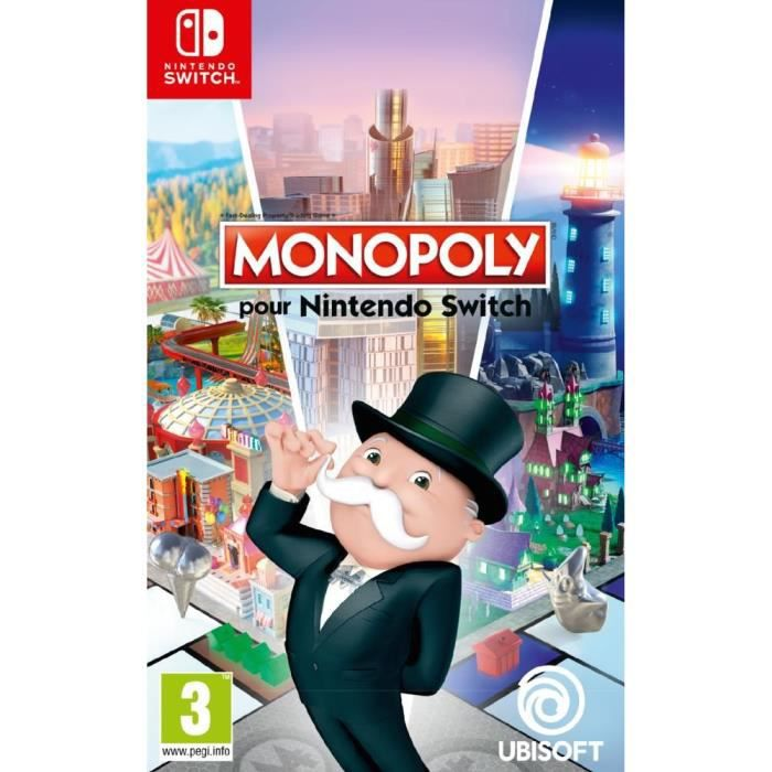monopoly jeu switch achat vente sortie jeux nintendo. Black Bedroom Furniture Sets. Home Design Ideas