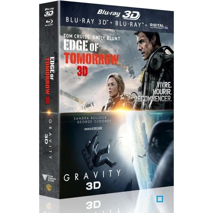 dvd coffrets et blu ray d edge of tomorrow gravity f