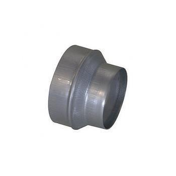 Réduction galva 200-125mm pour récuperateur d'a…