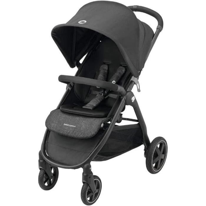 Bébé Confort Gia Poussette pliable avec position allongée, petite dimension de pliage, de 6 mois à environ 5 ans (max. 22 kg), prote