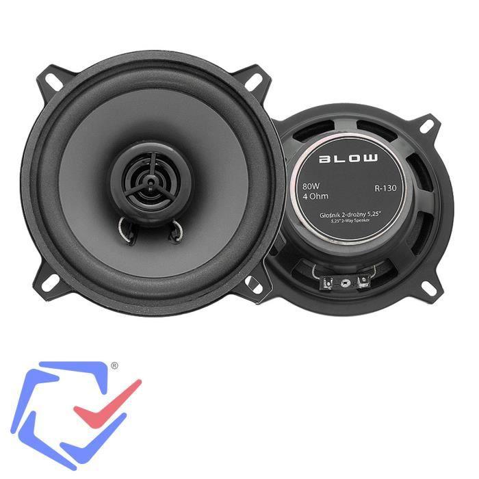 Blow R-130 80W 4Ohm Haut-parleurs de voiture vehicule audio