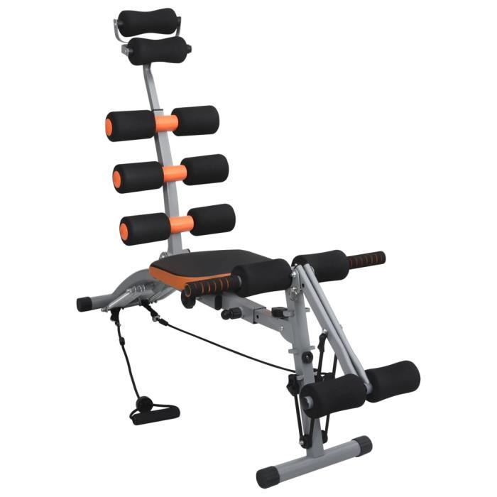 Appareil d'exercices Appareil de gym abdominaux en L avec cordes élastiques Moderne #79663