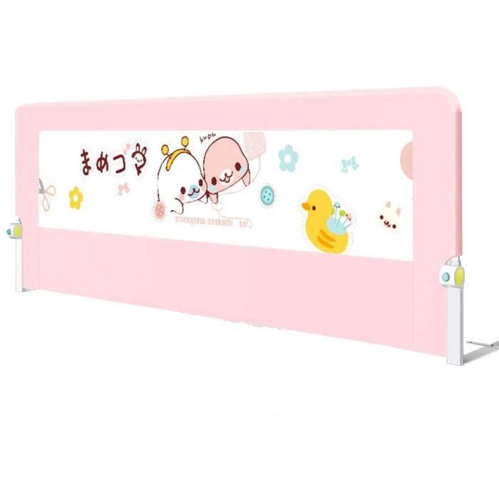 Barriere de lit Hfyo Barri&egravere de Lit Barri&egravere De Lit, Unique pour Lit d'enfant en Bas &Acircge Garde d'enfant De S183