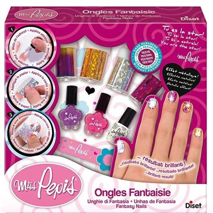 Miss Pepis - Ongles Fantaisie