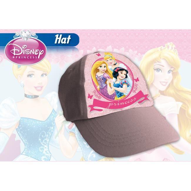 casquette princesses disney