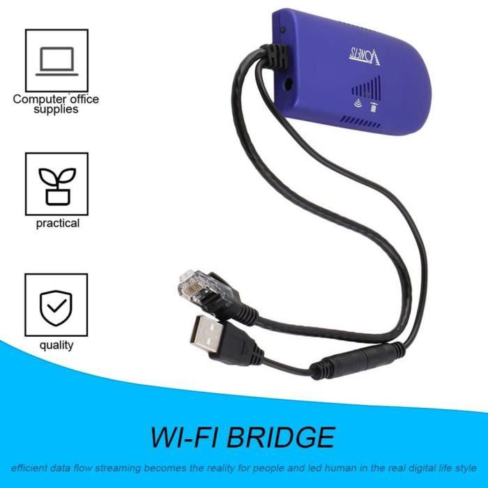 VAP11G -300 Câble de Pont WiFi Convertir Un Port Ethernet RJ45 en répéteur de dongle sans Fil WiFi AP Amplificateur de Signal
