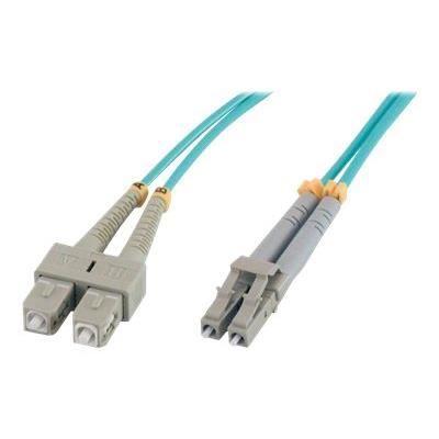 MCL Câble réseau - 3 m Fibre Optique - Pour Périphérique réseau - Bleu