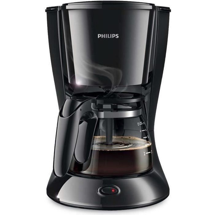 PHILIPS HD7432/20 Cafetière filtre Daily Collection – Noir