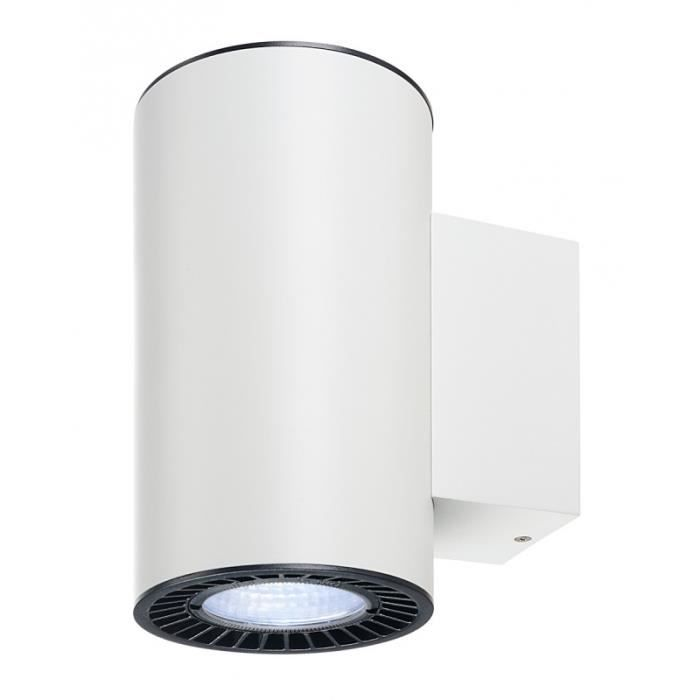 SUPROS, applique up down, rond, blanc, 4000K, SLM LED, réflecteur 60° Blanc