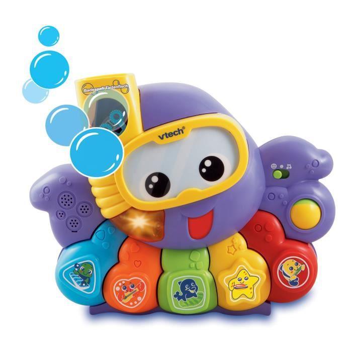 VTech Baby 80-113504 Pieuvre pour jouer dans le bain