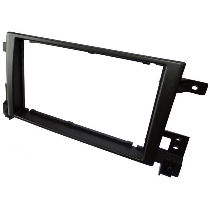 Adaptateur Autoradio Fa/çade Cadre R/éducteur 1DIN ou 2DIN pour auto voiture Aerzetix