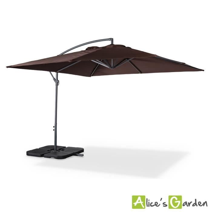 parasol deporte carre 3x3m 28 images parasol 240. Black Bedroom Furniture Sets. Home Design Ideas