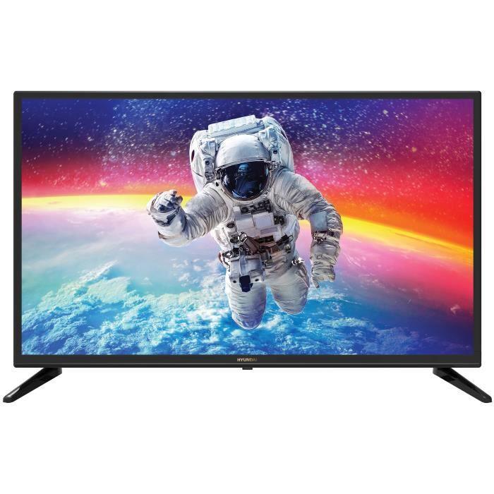 "Téléviseur LED  TV HYUNDAI 32"" HD - DVBT/C/T2/S2"