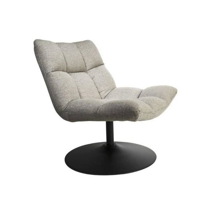 fauteuil bar lounge de dutchbone gris clair salon. Black Bedroom Furniture Sets. Home Design Ideas