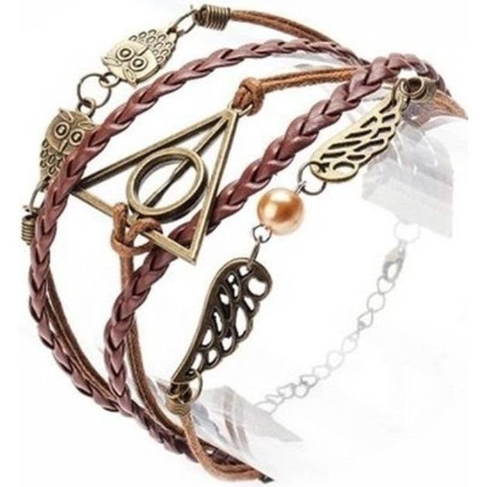 bracelet cheville harry potter