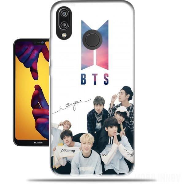 Coque Huawei P20 Lite en silicone avec design K-pop BTS Bangtan ...