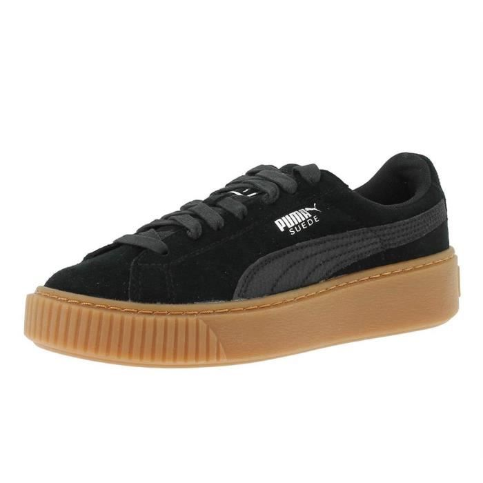 Puma Basket Suede Platform Animal Black 365109-01 9uyQLAySAu