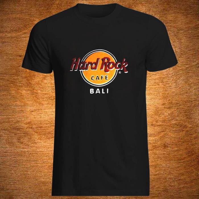 Hard Rock Cafe Bali T Shirt Mens New Tee Black Achat Vente T
