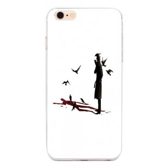 coque iphone 5 sang