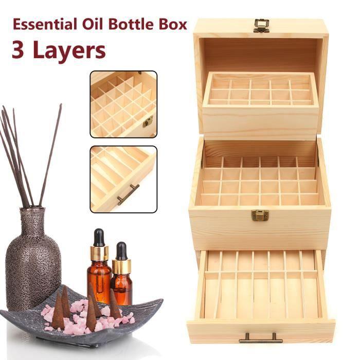 BOITE APPAREIL DENTAIRE T4W Boîte De Stockage D'huile Essentielle Rangemen