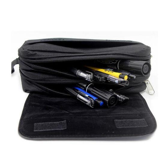 Undertale Sac de Crayon Simple Sac de Toile Sacs de Papeterie Sacs de Rangement Imprim/é /Étui /à stylos Color : A1, Size : 24 x 6 x 6cm