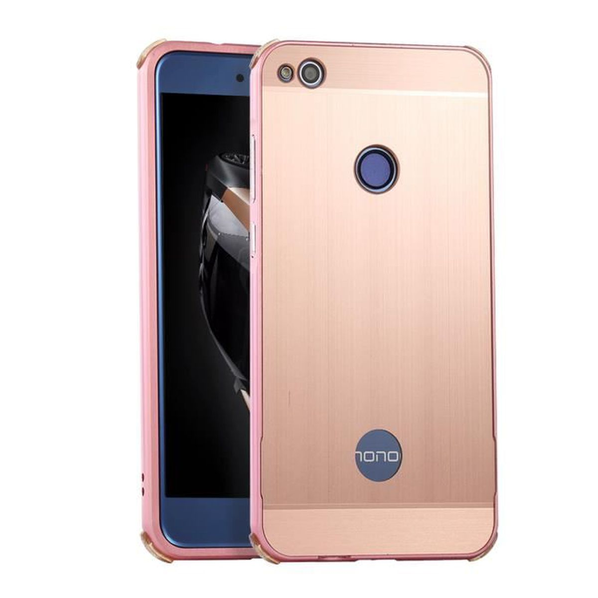 coque or rose huawei p8 lite