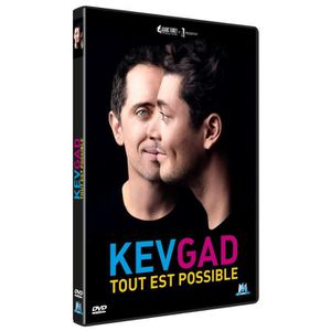 DVD SPECTACLE DVD Kev Gad : Tout est possible