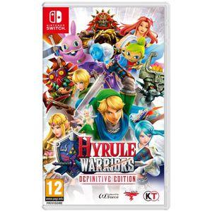 JEU NINTENDO SWITCH Hyrule Warriors : Definitive Edition Jeu Switch