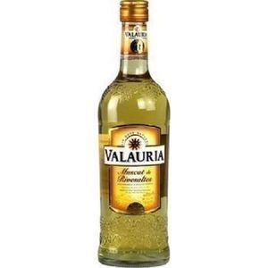Apéritif à base de vin Muscat de Rivesaltes Valauria 15,5° 75 cl neuf