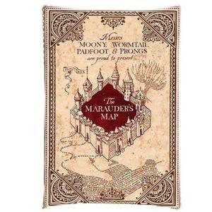 TAIE D'OREILLER q151qq-1 New Hot Harry Potter Marauder Carte Taie