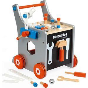 BRICOLAGE - ÉTABLI Chariot magnétique Brico'Kids (bois)