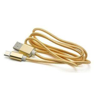 CÂBLE TÉLÉPHONE Lot de 2 Cable de charge résistant Type C 3 Mètres