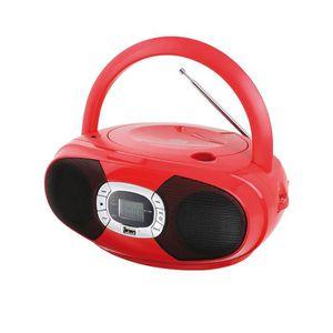 RADIO CD CASSETTE Clip Sonic Technology TES149R Lecteur Radio CD Blu