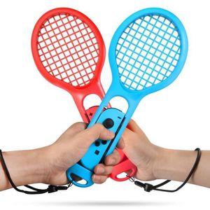 CONSOLE NINTENDO SWITCH Raquette de Tennis pour Nintendo Switch, Twin Pack