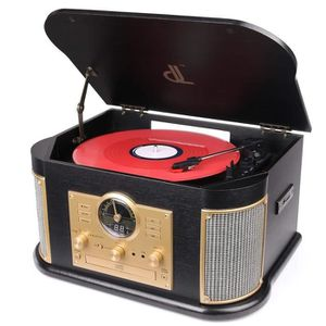 RADIO CD CASSETTE Tourn Disqu dl Platine Vinyle Bluetooth FM/CD/MP3/