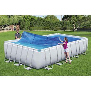 BÂCHE - COUVERTURE  Bâche solaire 687x366 pour Frame Pool 732x366