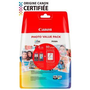 PACK CARTOUCHES CANON Pack 2 Cartouches à Haut rendement PG-540XL